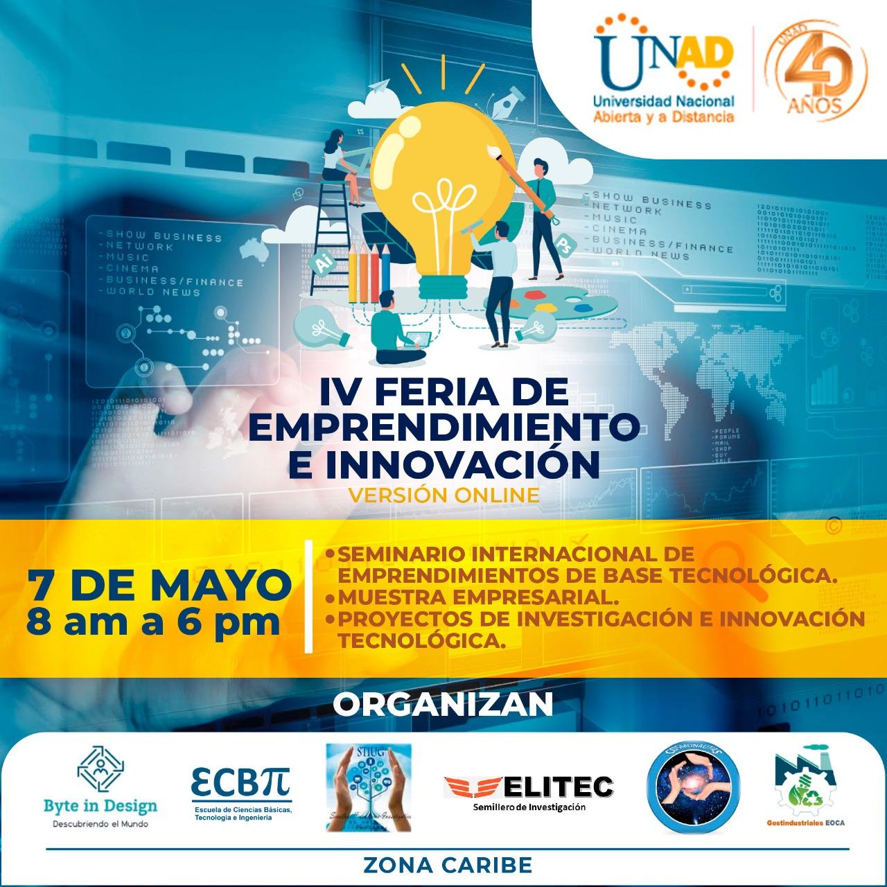 Banner IV feria de emprendimiento e innovación