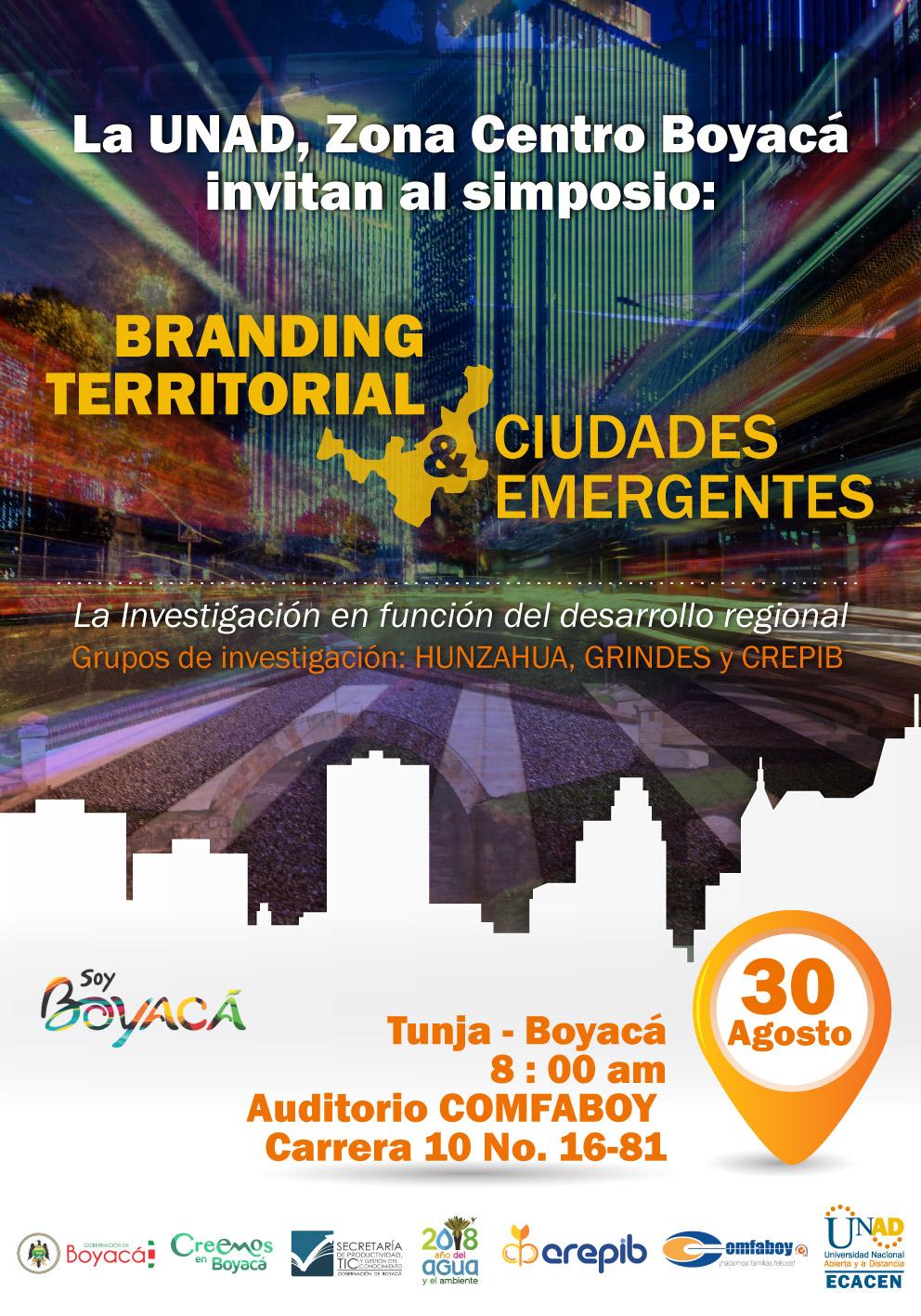 Branding Territorial y Ciudades Emergentes ECACEN 2