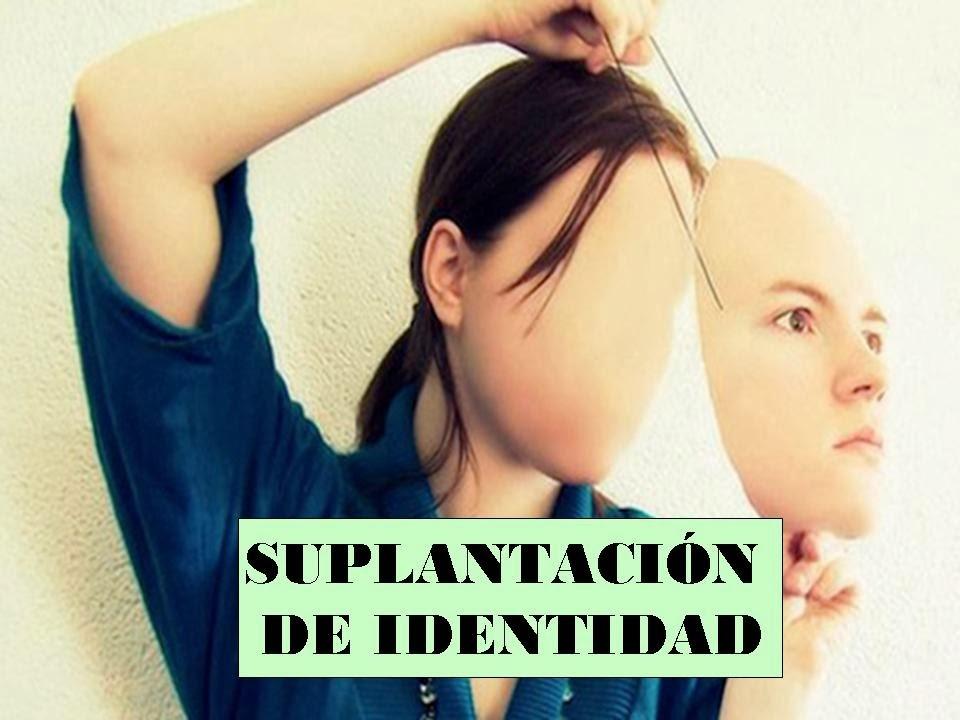 Suplantacion Identidad