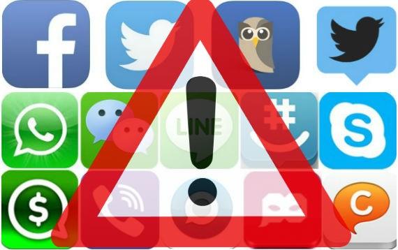 riesgos en redes sociales