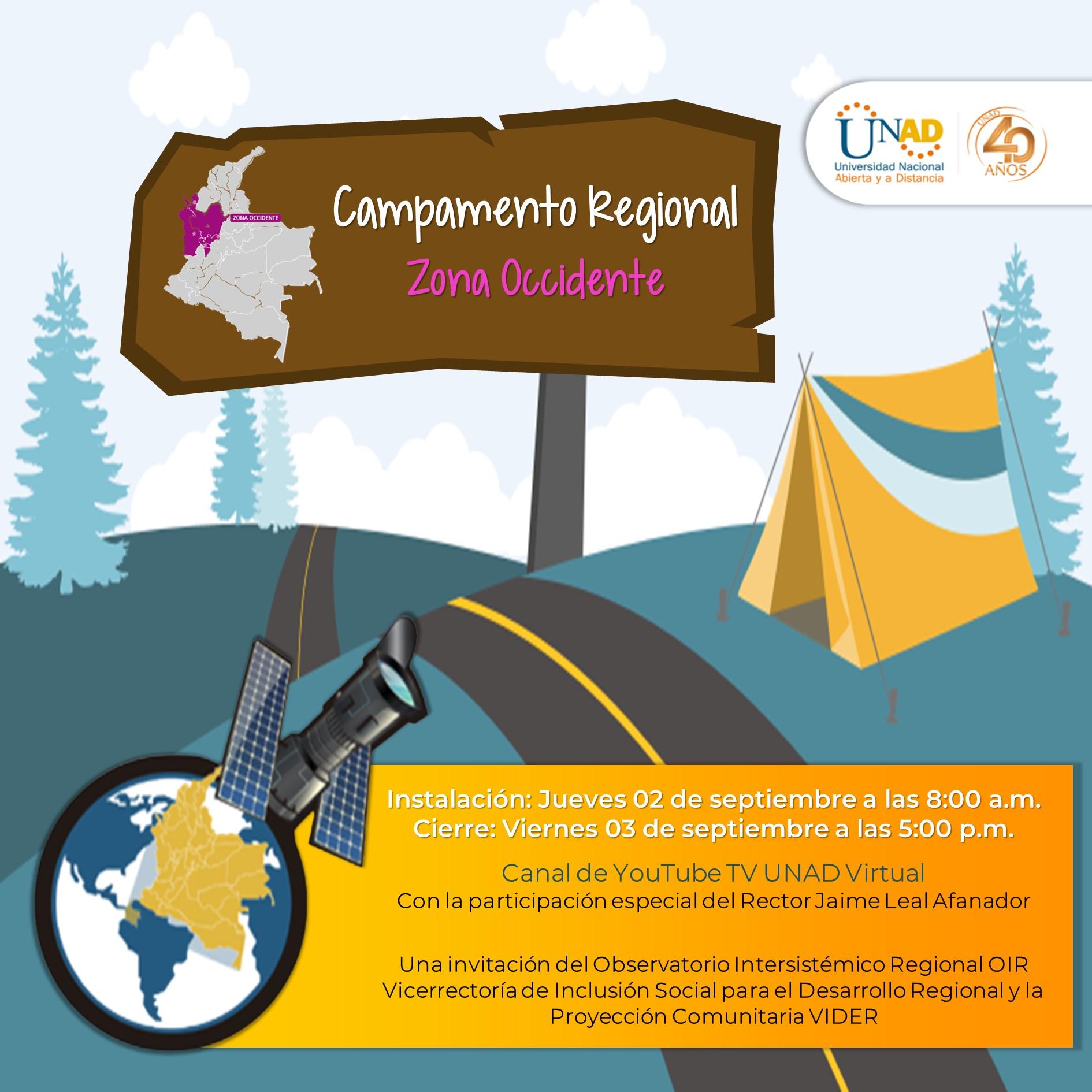 Invitación general campamento OIR ZOCC