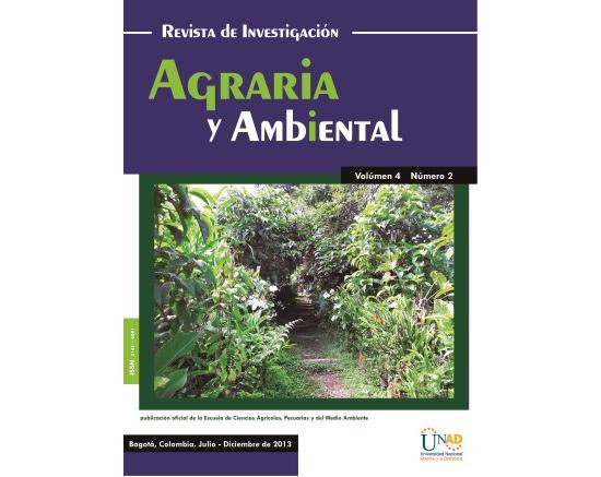 Revista de Investigación Agraria y Ambiental de la UNAD