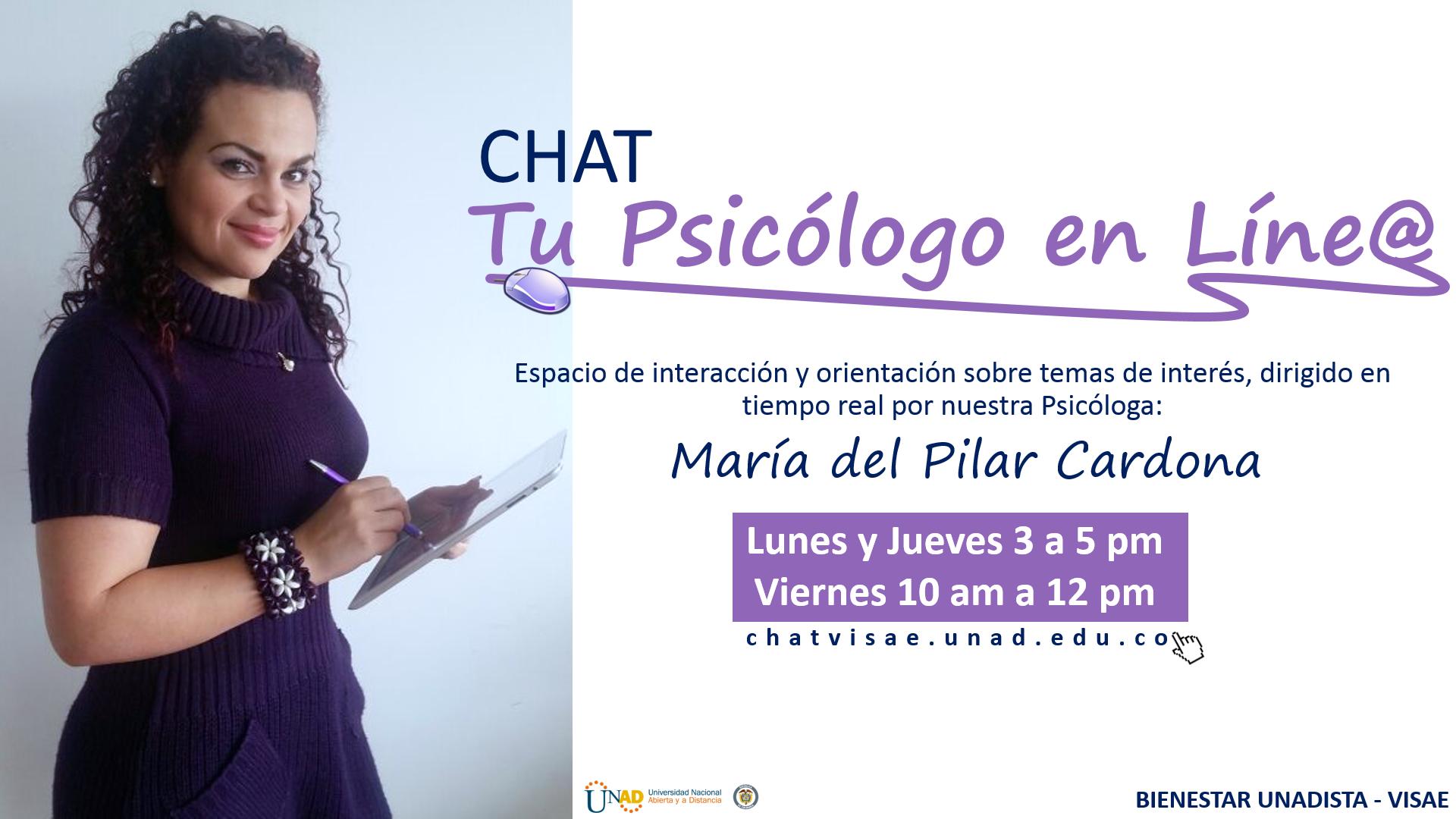 Acceso Al Chat Del Psicólogo En Línea Consulte Más Información De Los Nodos Nodosvirtuales Unad Edu Co