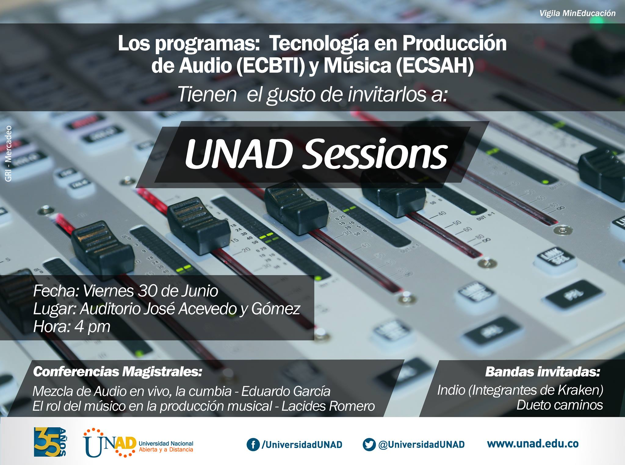 unad sessions