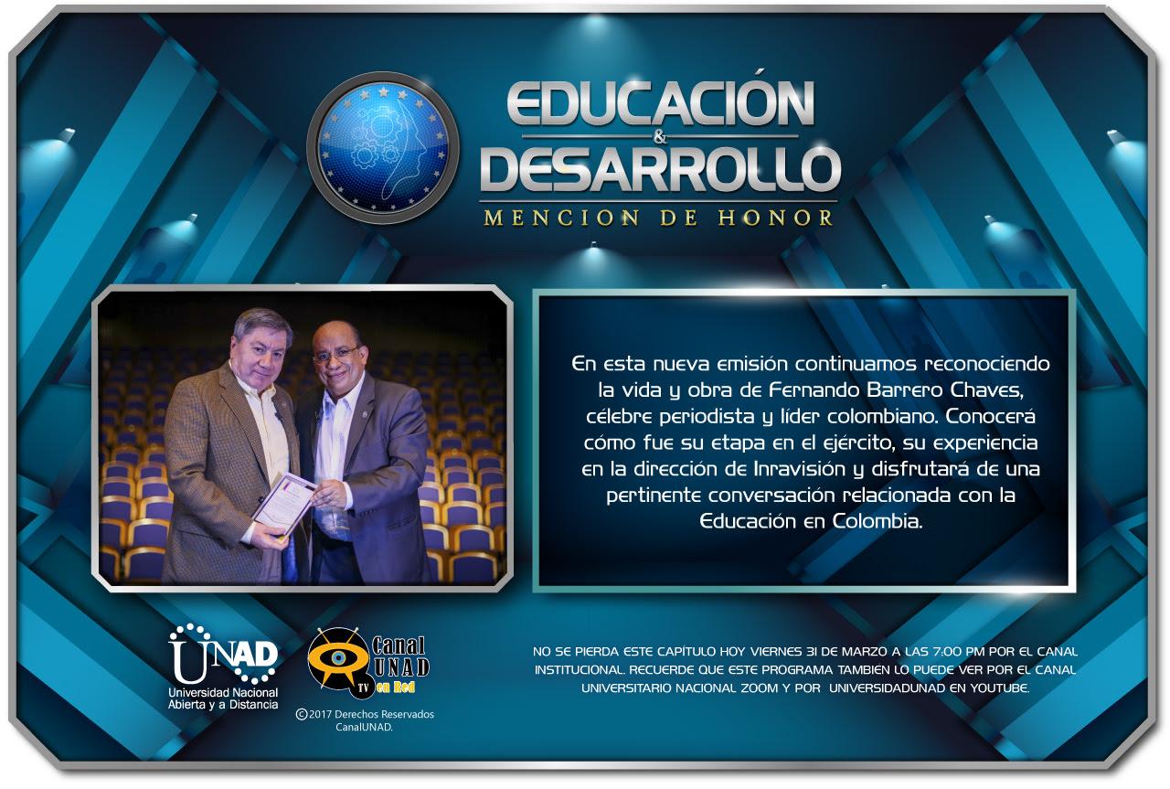 educacion y desarrollo marzo 31