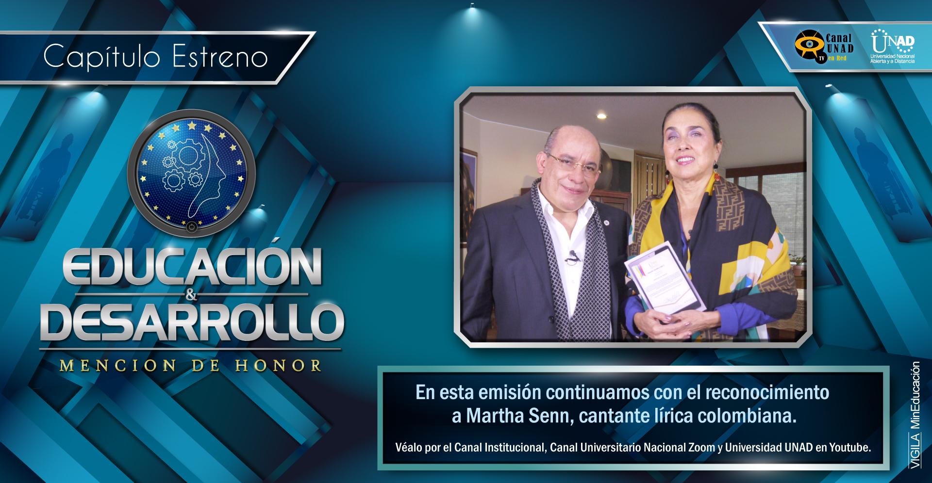 PROGRAMA EDUCACIÓN DESARROLLO 3 Marta Senn 2 Lanzamiento PORTAL TV
