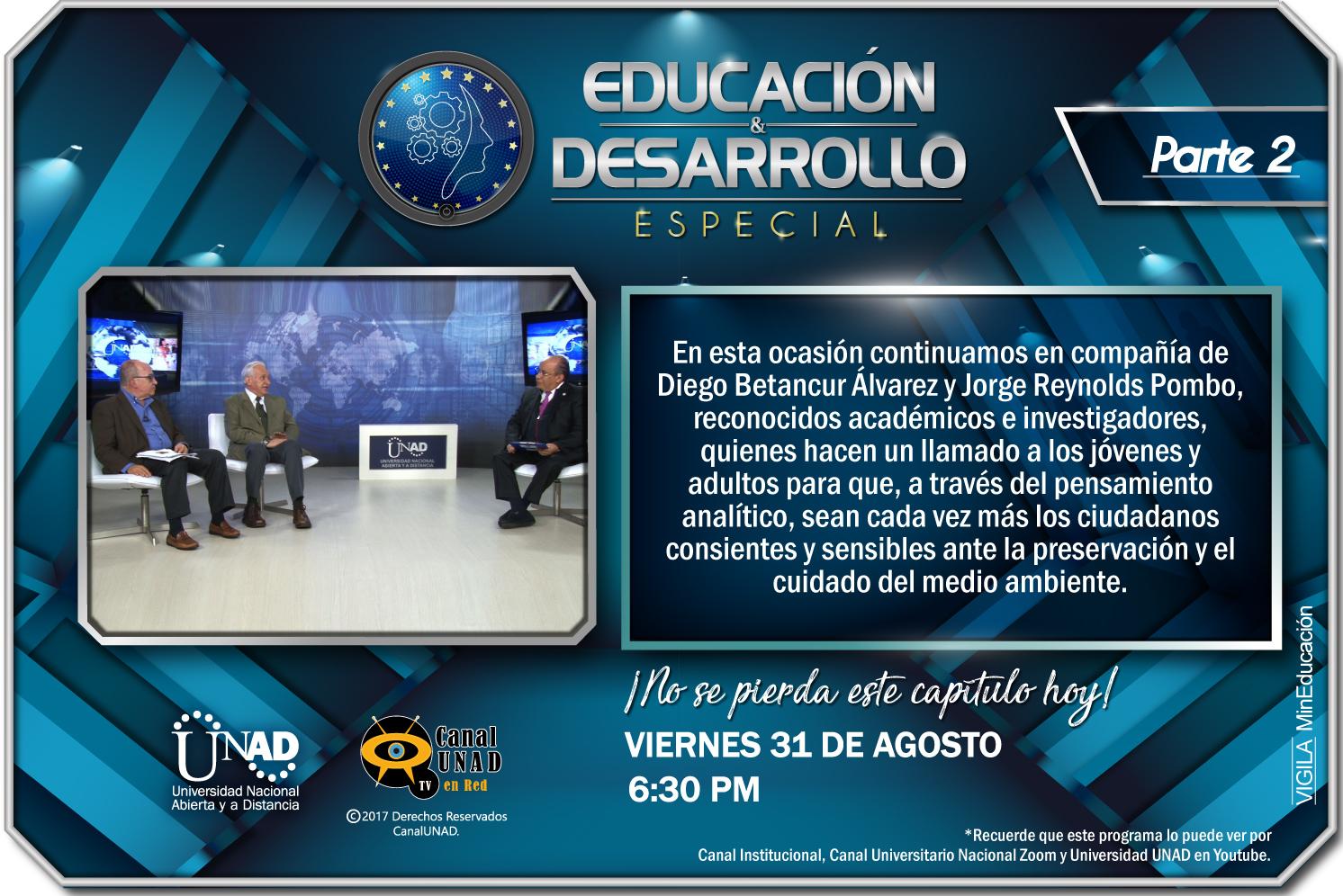PROGRAMA EDUCACION DESARROLLO 6 Especial Investigadores Publimail 2
