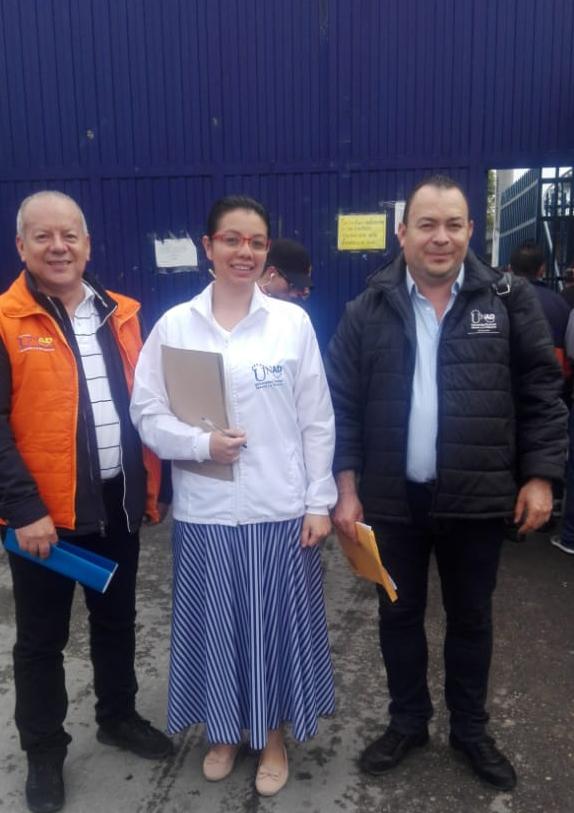 Foto docentes convenio UNAD Inpec