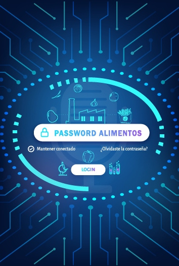 Banner Password Alimentos