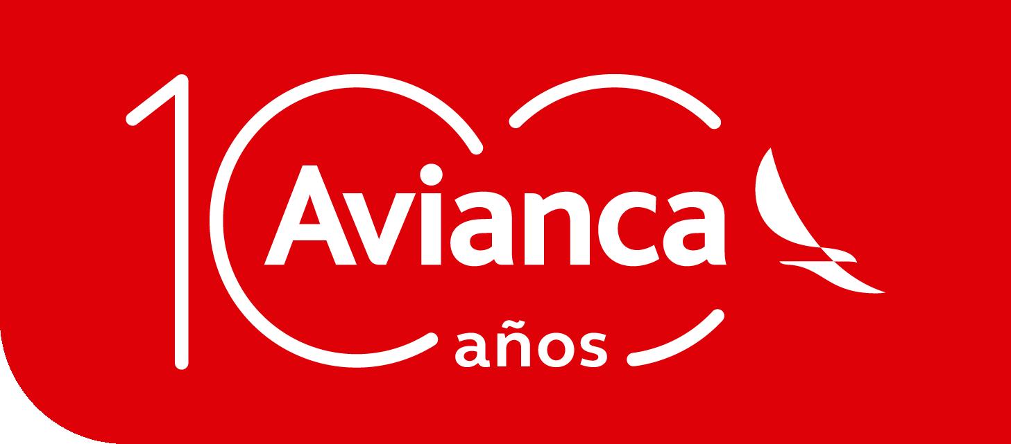 Avianca Logo Fondo Rojo