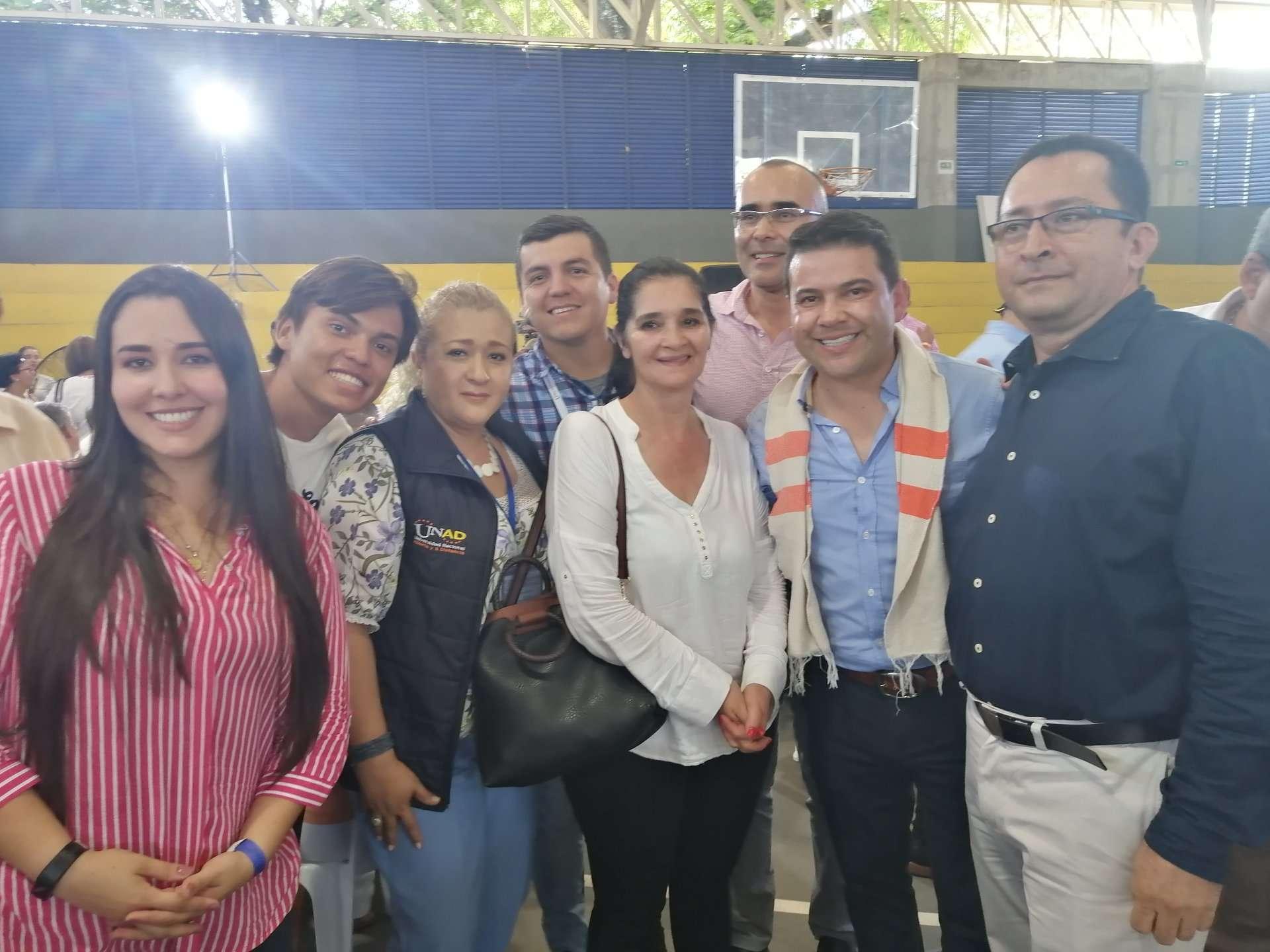 Con el Gobernador de Cundinamarca