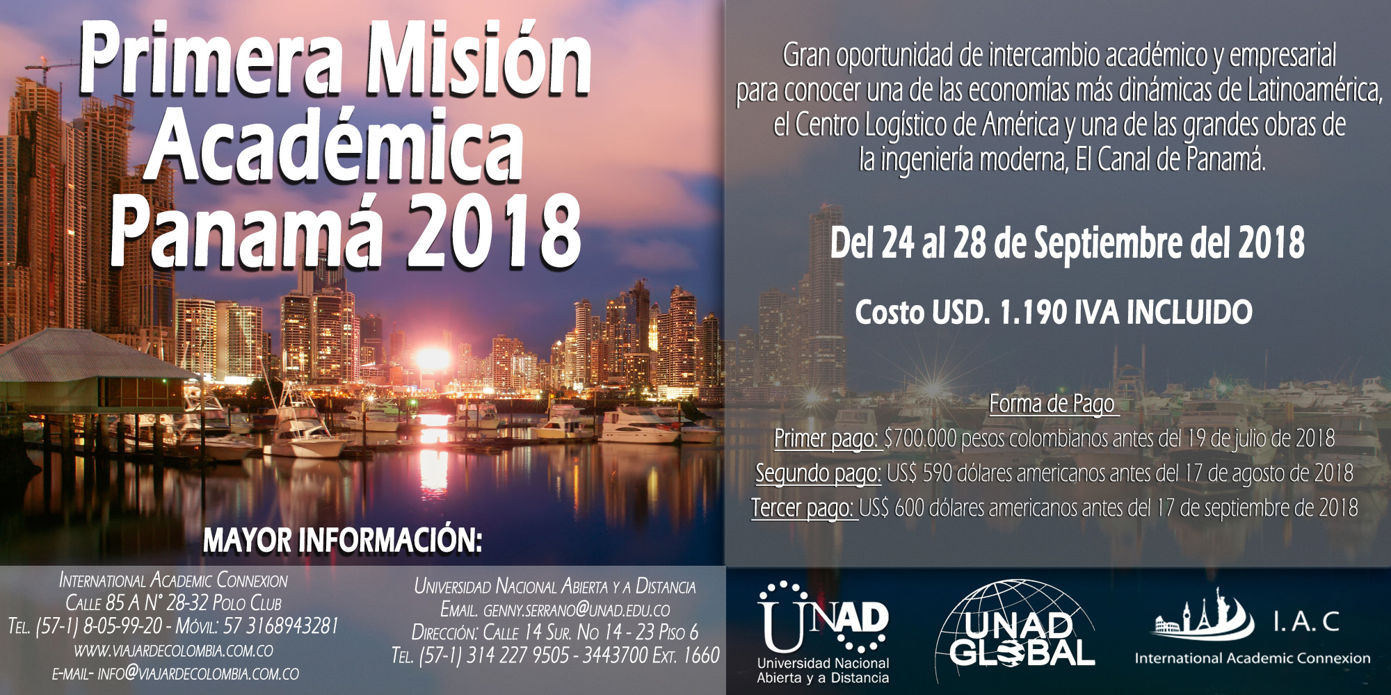 Primera Misión Académica Panamá 050618
