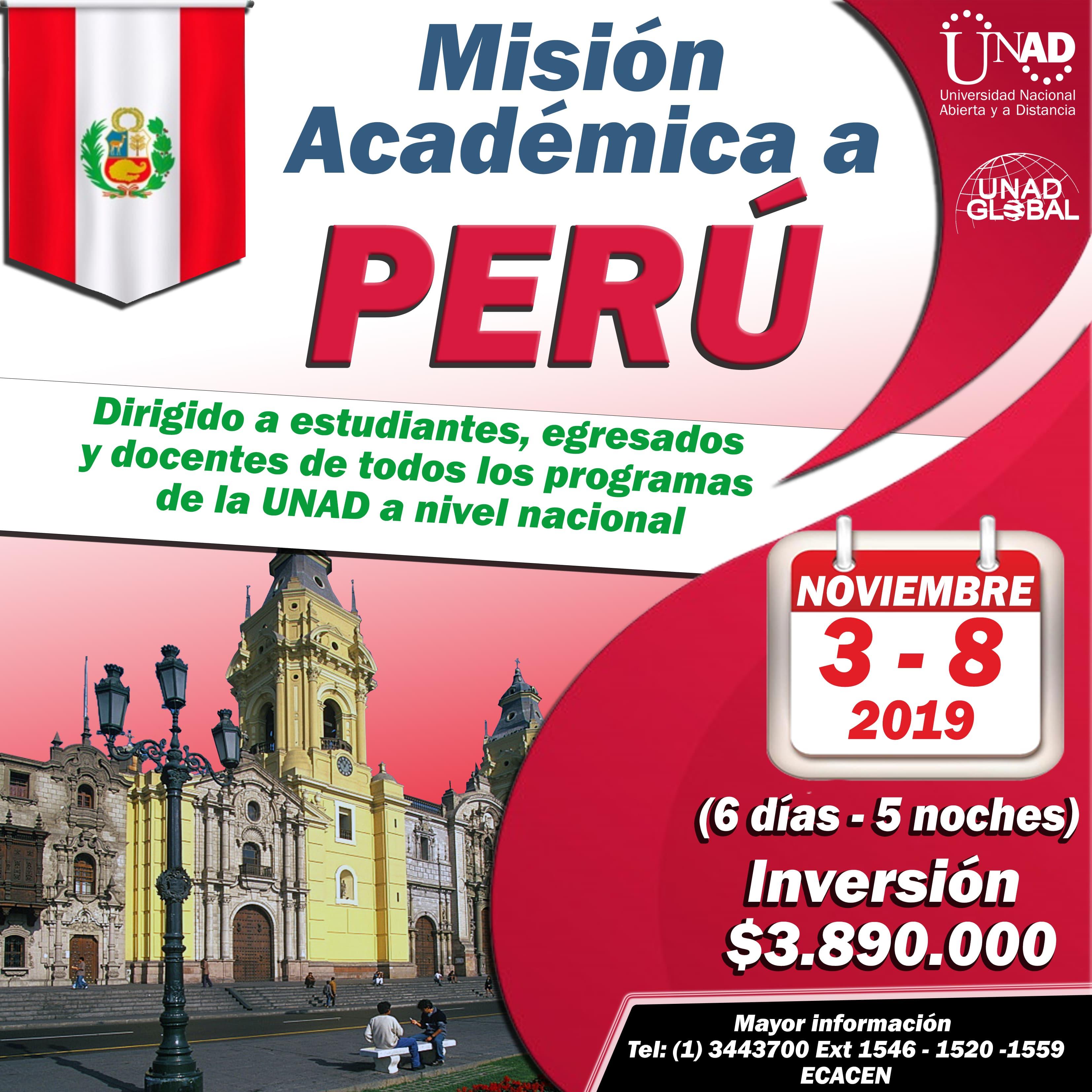 Misión Académica a Perú a 1 min