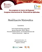pre–congreso  de matemáticas