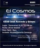 UNAD en Bogotá realiza el primer Cineforo de Astrofísica