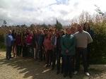Decana Escuela de Ciencias Agricolas Pecuarias y del Medio Ambiente visita Zona Centro Boyacá