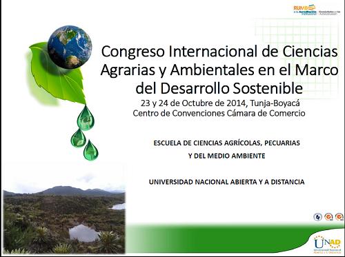 fotografia banner publicitario de el I congreso de ECAPMA Zona Centro Boyaca