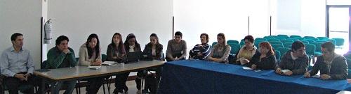 imagen mesa directiva Escuela de Ciencias Agricolas Pecuarias y del Medio Ambiente