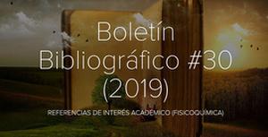 Boletin 30 2019