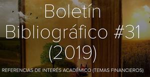Boletin 31 2019