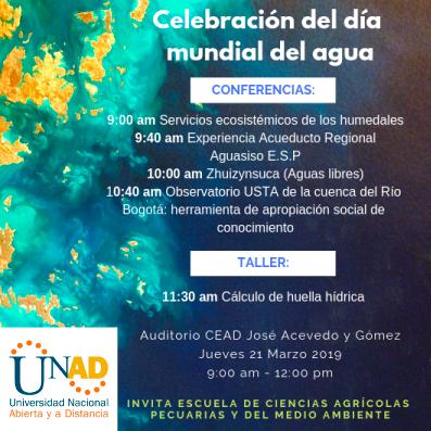 conferencia dia del agua
