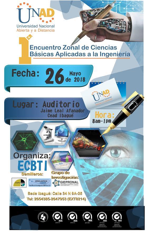1er Encuentro zonal de Ciencias Básicas aplicadas a la Ingeniería ZSUR