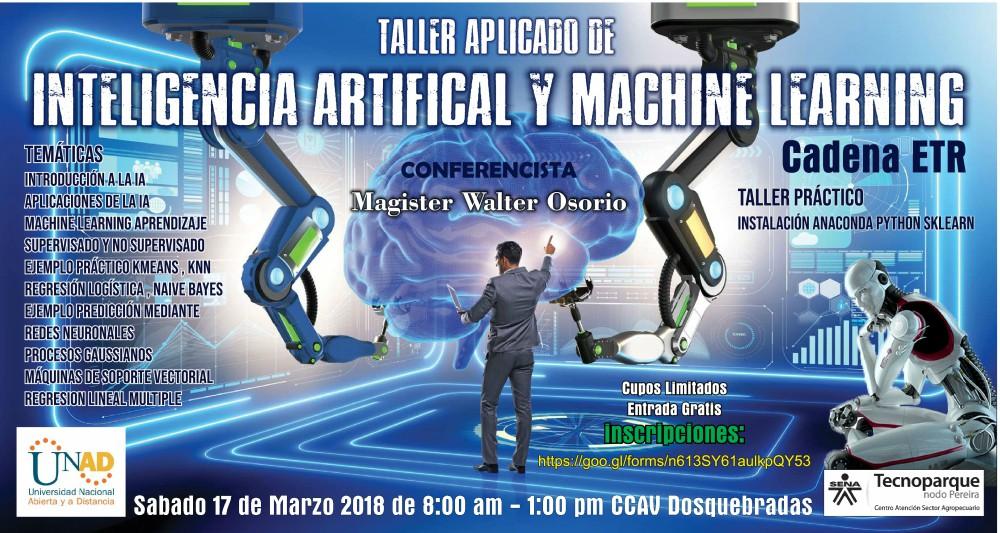 Banner Inteligencia Artificial y ML dosquebadas
