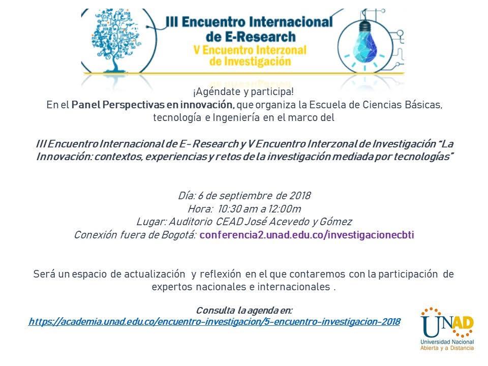 III Encuentro internacional de E Research