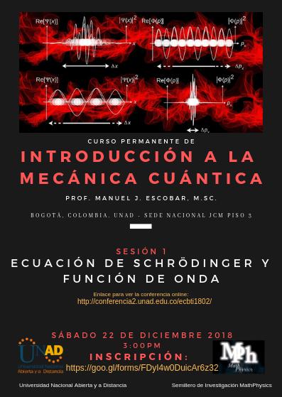 Intro a la mecánica cuántica
