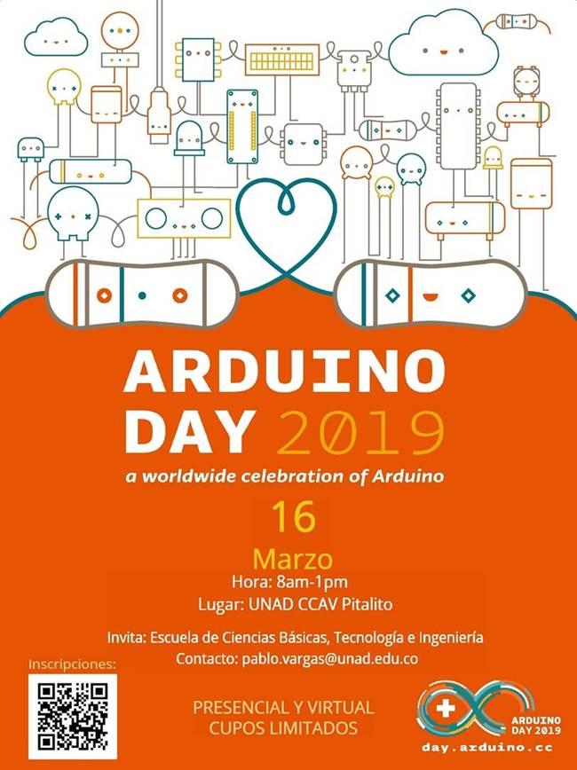 Invitación día del Arduino