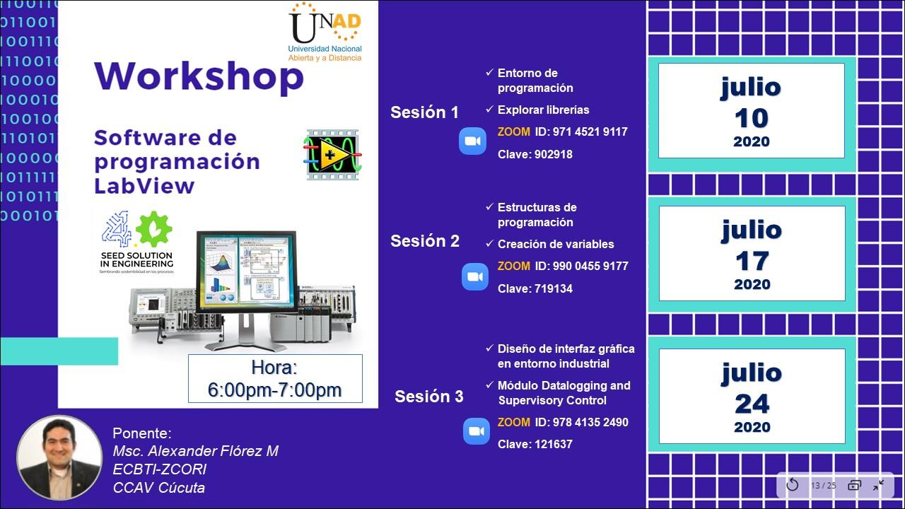 Workshop LabView Julio 2020