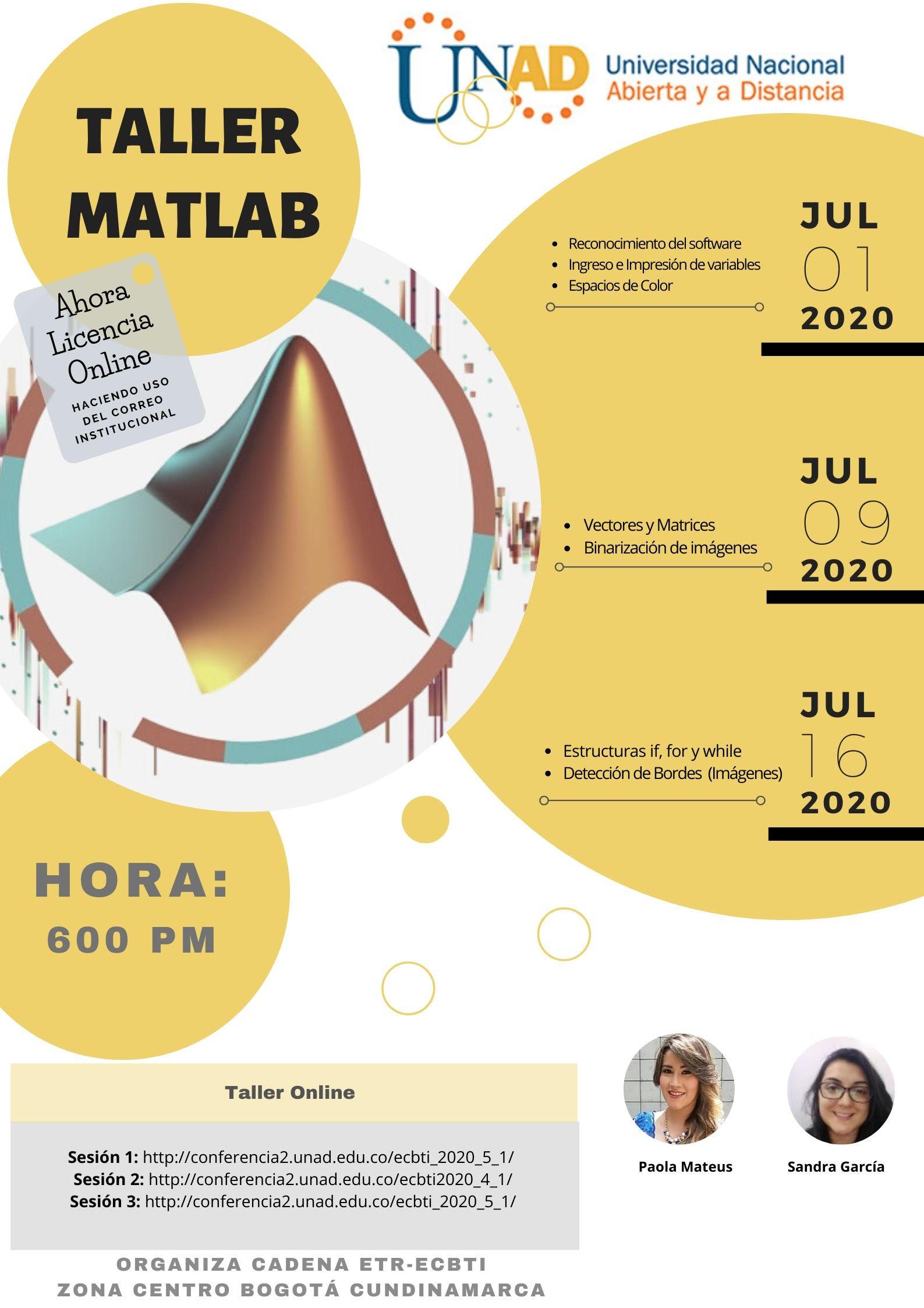 taller Matlab julio 2020
