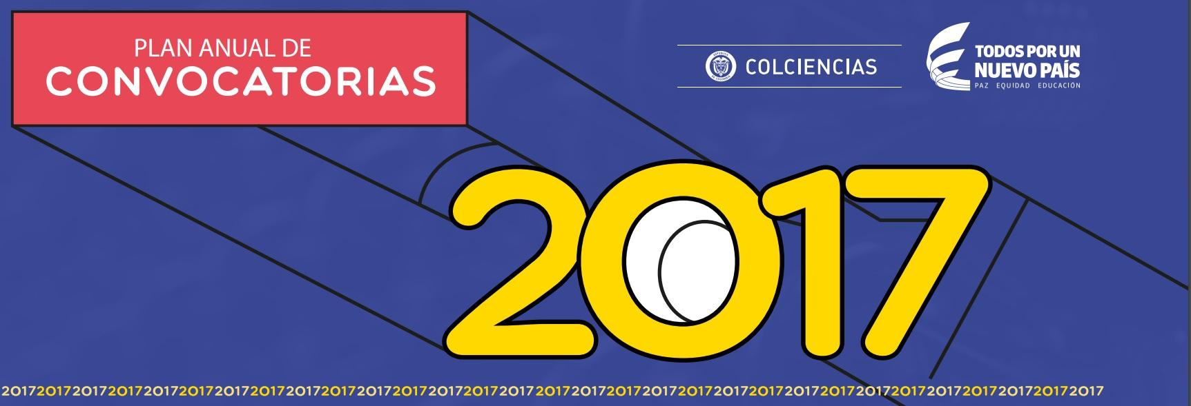 Convocatoria Colciencias 2017