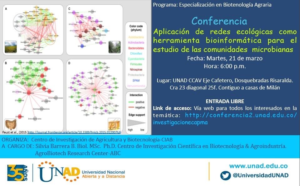 Invitación Redes Ecologicas